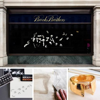 Conran and Partners have collaborated with Brooks Brothers in this year's RIBA Regent Street Window Project
