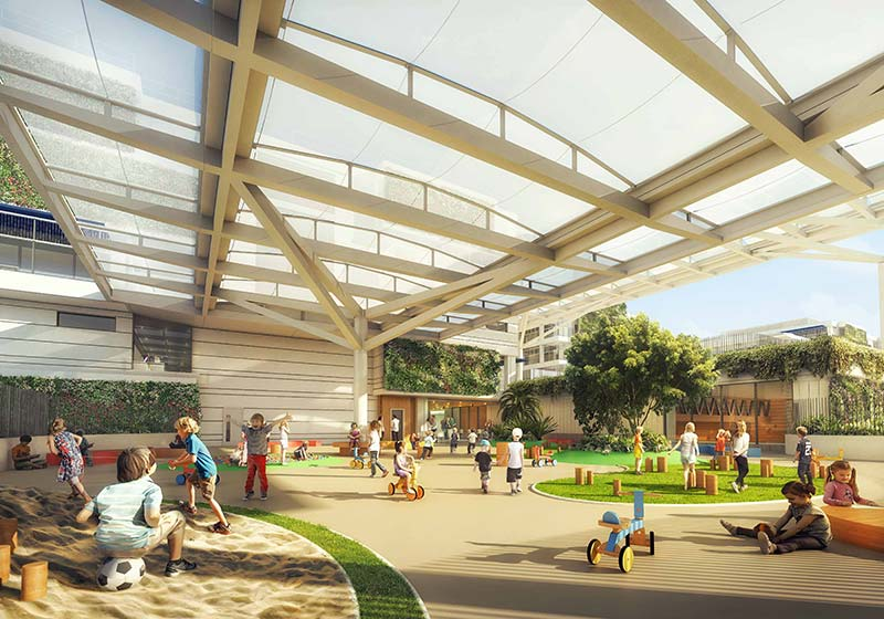 Construction starts in Singapore on Early Years International School