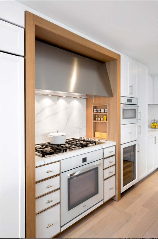 INSPIRA is the first publicly available kitchen design by CetraRuddy