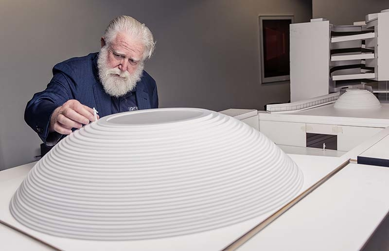 """Exciting collaboration between schmidt hammer lassen architects and James Turrell takes ARoS to """"The Next Level"""""""