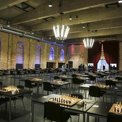 Who said that chess is not about design and architecture?