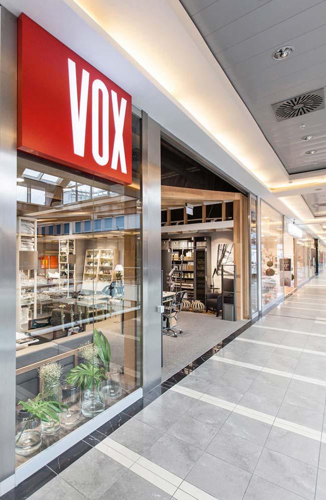 Meble VOX sklep / Meble VOX store by mode:lina architekci