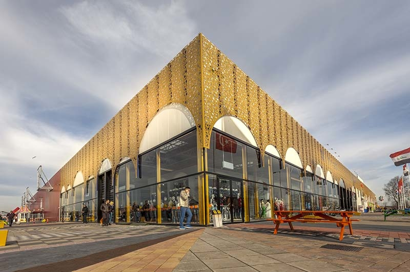 Mihrab - a new shopping area in De Bazaar, The Netherlands