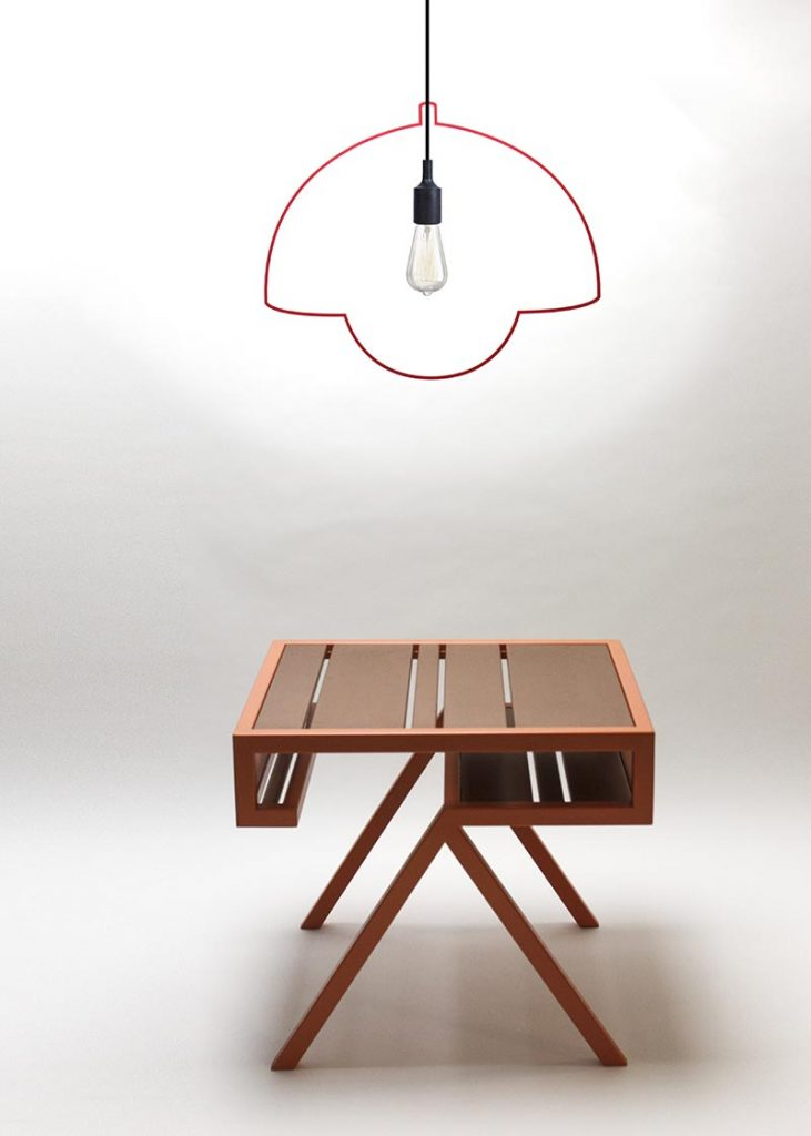 Crescent and Lamp Ligne - Two new luminaires by Eindhoven based label qoowl