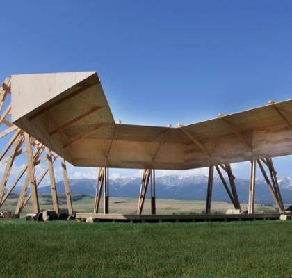 Tippet Rise Art Center to open in summer 2016 in the foothills of Montana's great open landscape