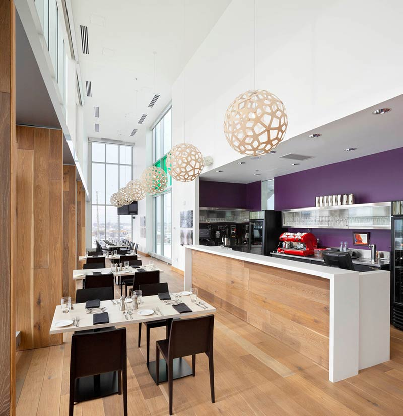 Durham College Centre for Food by Gow Hastings Architects