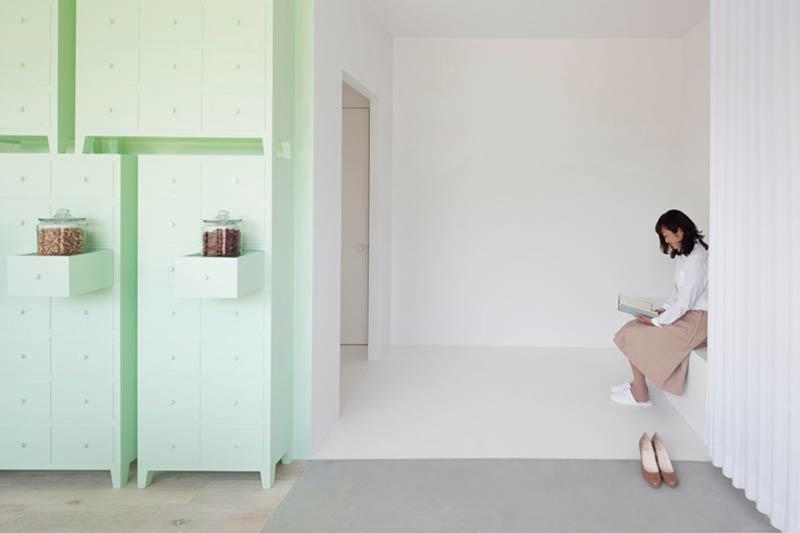 Sumiyoshido kampo lounge, clinic for acupuncture and moxibustion