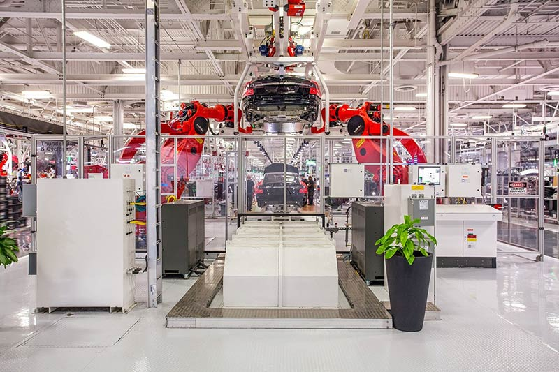 Inside ELON MUSK's car factory of the future