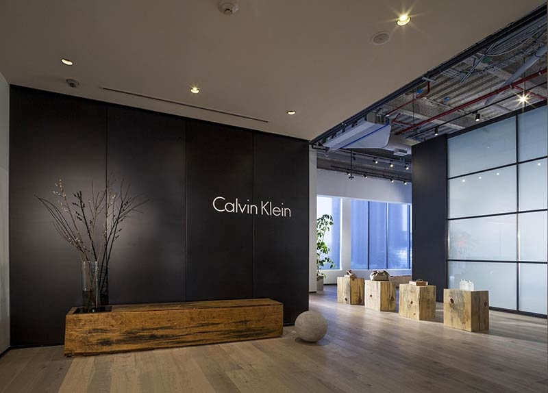 Calvin Klein Showroom in Mexico has 'a box inside another box'