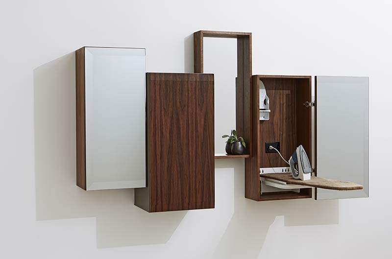 Think Fabricate's Kinetic Collection provides a great solution for clutter-free, flexible settings
