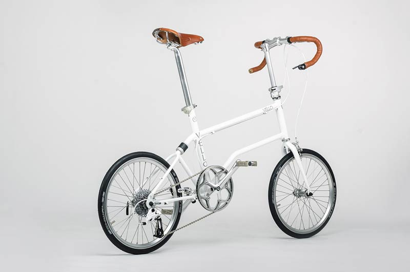 VELLO bike, the high-performance compact bike, by designer Valentin Vodev