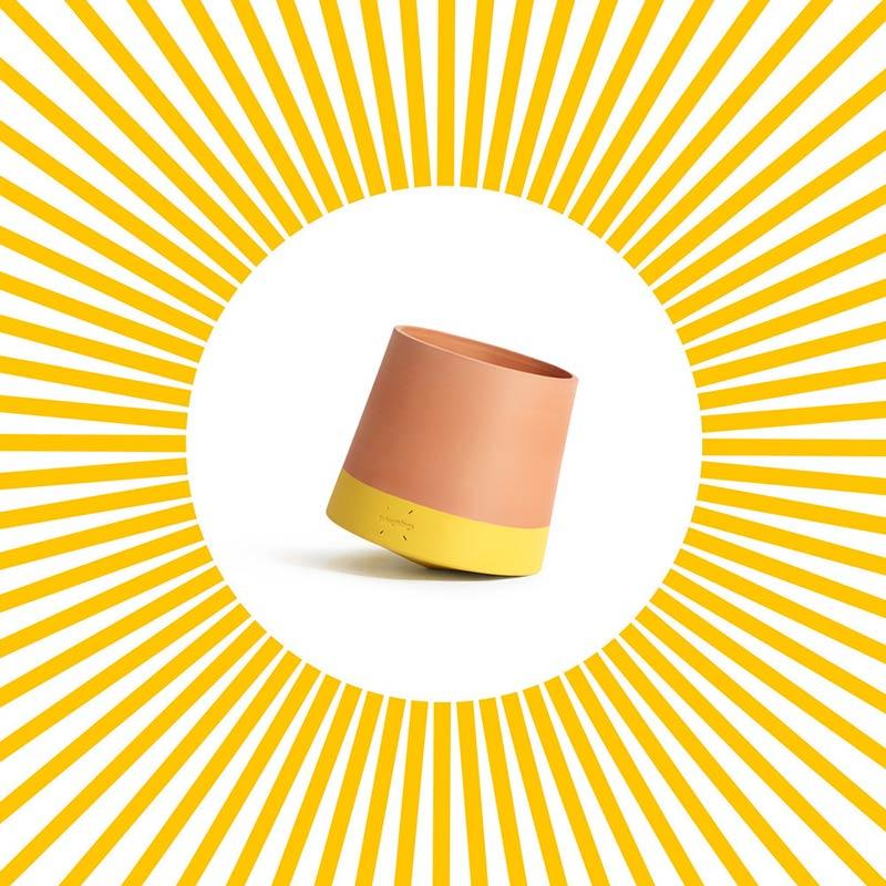 Voltasol, the rolling flowerpot by Studio BAG Disseny