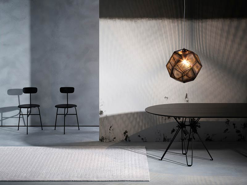 International architecture influence Kasthall's new rug design