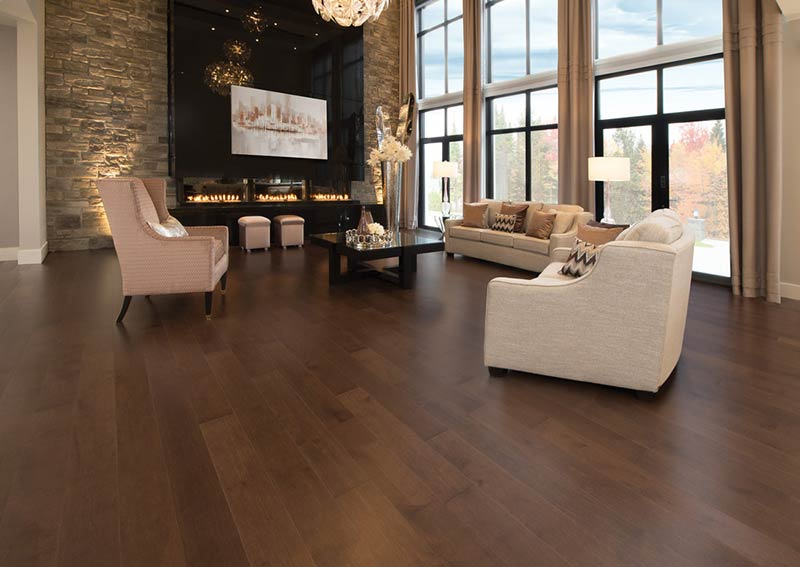 Rio and Havana - two new colors from Mirage Hardwood Flooring