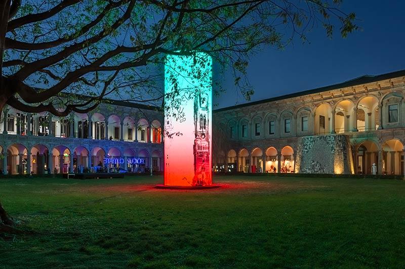 Towers installation by Sergei Tchoban in Milan