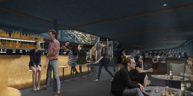 Andrew Franz Architect announces design of Fish Bar at North River Landing on Pier 81 in Manhattan