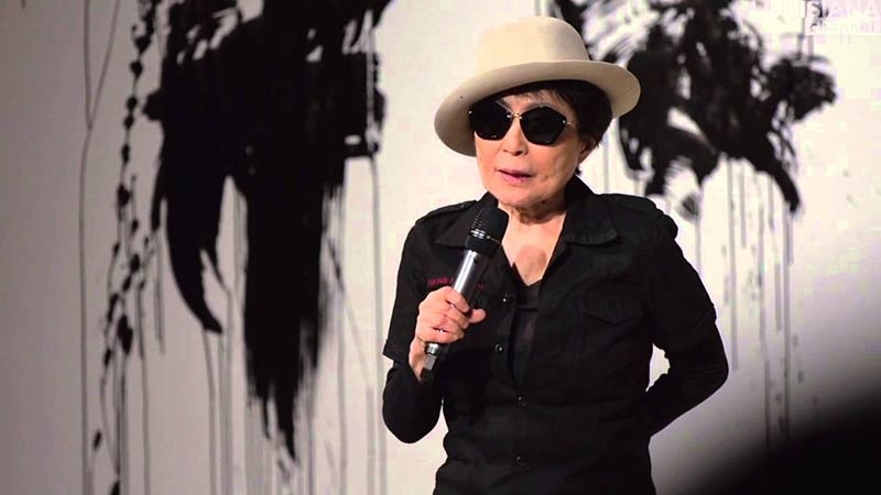 Yoko Ono: Performance at the Louisiana Museum