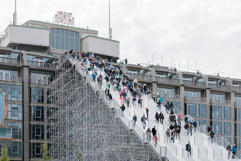 The Stairs Open celebrating 75 year post-war reconstruction