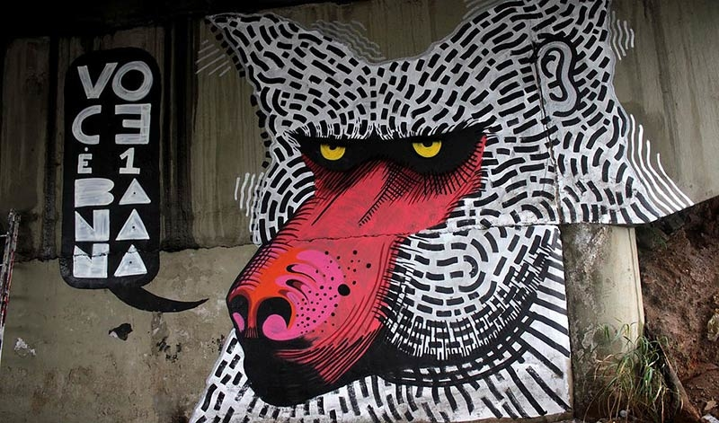 You Need to See This Awesome São Paulo Street Art