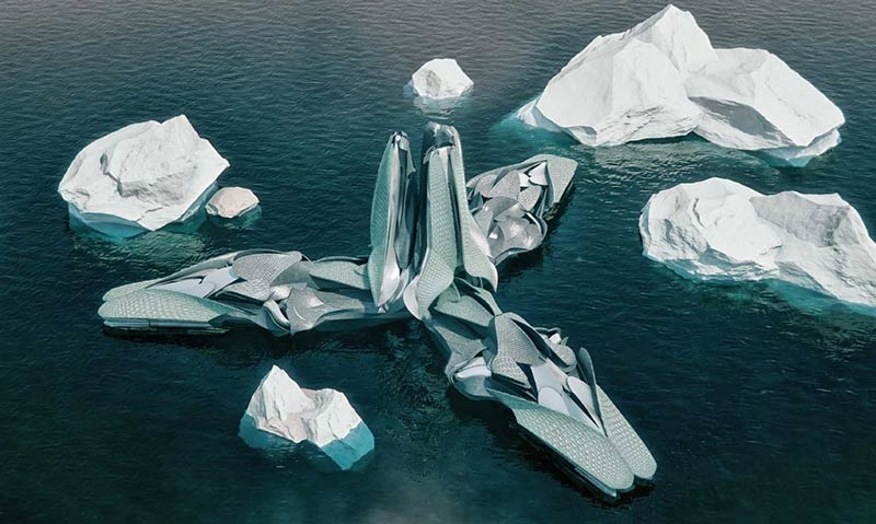 "Studio Hani Rashid's ""ANTARCTICA: RE-CYCLICAL"" opens in Venice"