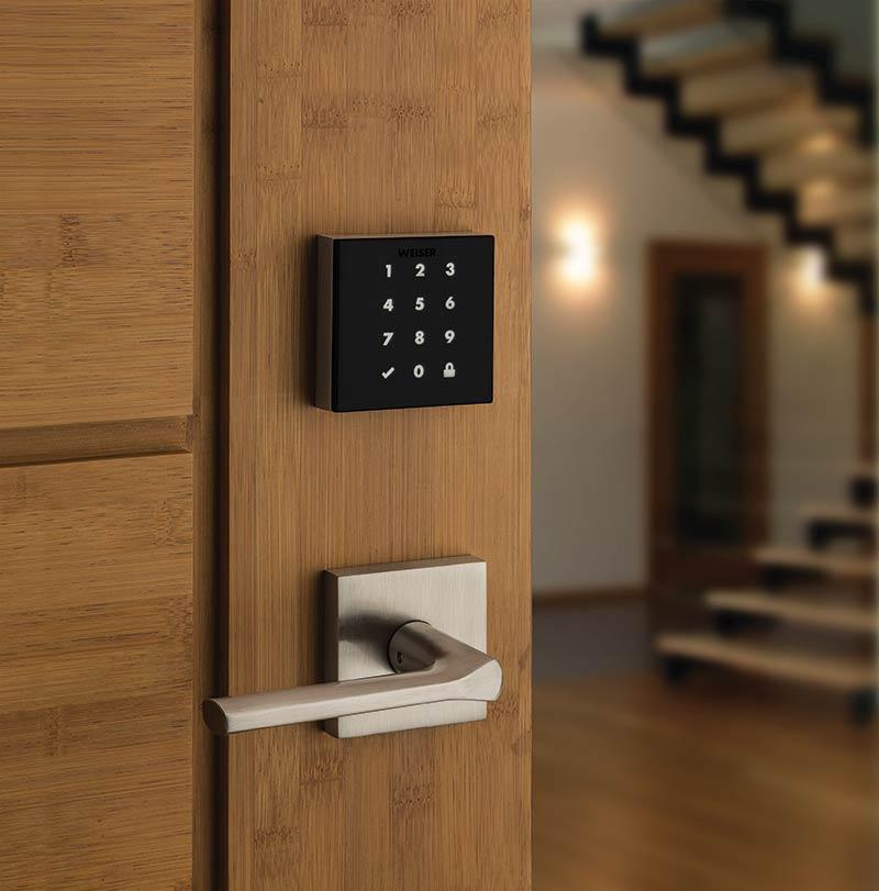 Weiser unveils keyway-less touchscreen lock
