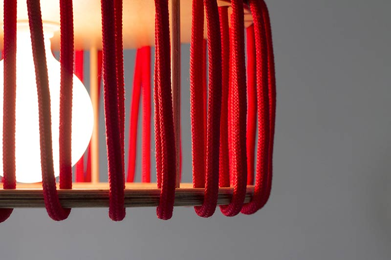 A Lamp with personality - The Macaron Lamp by Silvia Ceñal