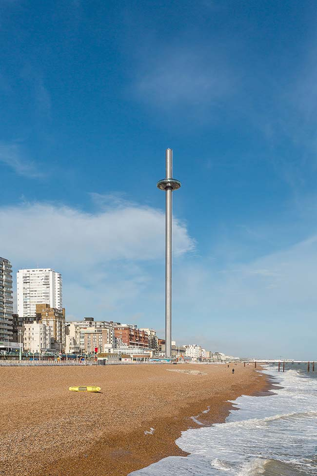 The British Airways i360 pod