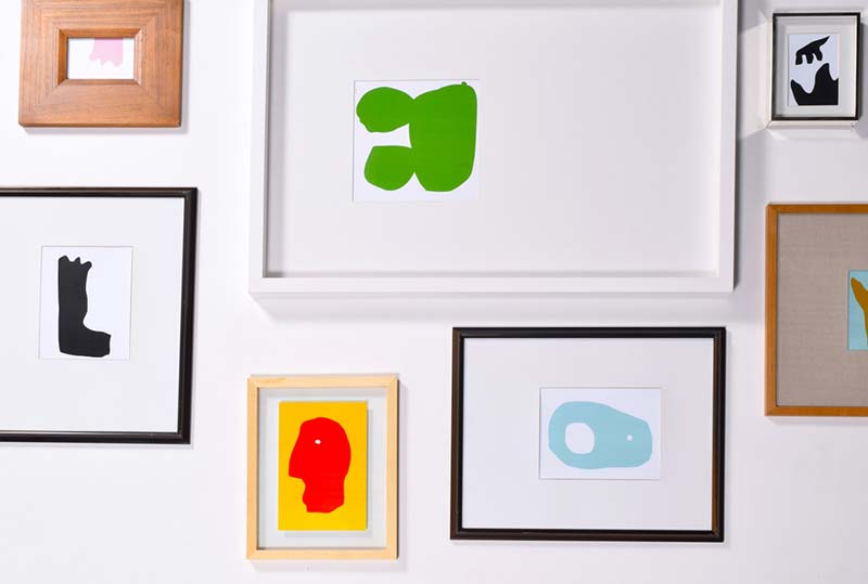 Free artwork from Edb & Paprika at their Montreal showroom