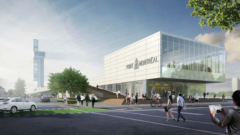 Iberville International Maritime Terminal and Alexandra Pier design revealed