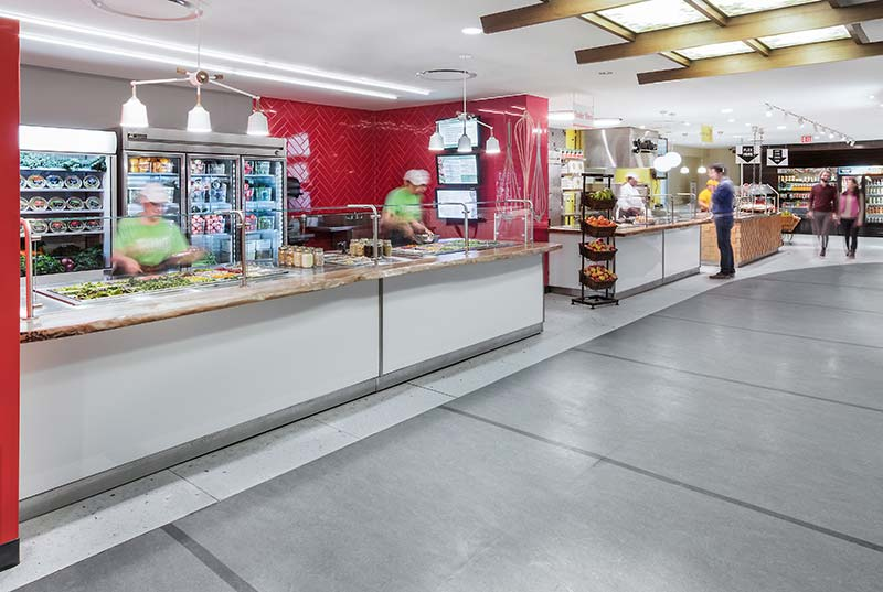 University of Toronto's Food and Ancillary Services by dpai architecture