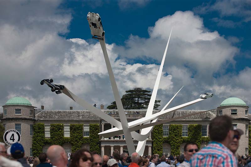 BMW Centenary Sculpture at Goodwood Festival of Speed 2016