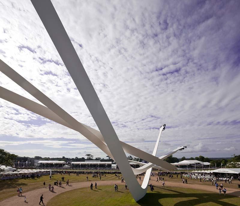 BMW Centenary Sculpture at Goodwood Festival of Speed 2016