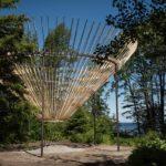 Opening of the 17th International Garden Festival in Grand-Métis, Canada