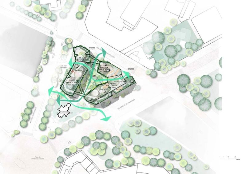 Porte Des Ternes - The Multi-Layered City, A New Urban Landscape