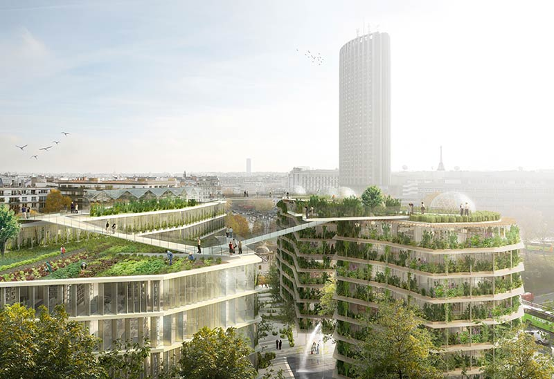 Porte Des Ternes - The Multi-Layered City, A New Urban Landscape