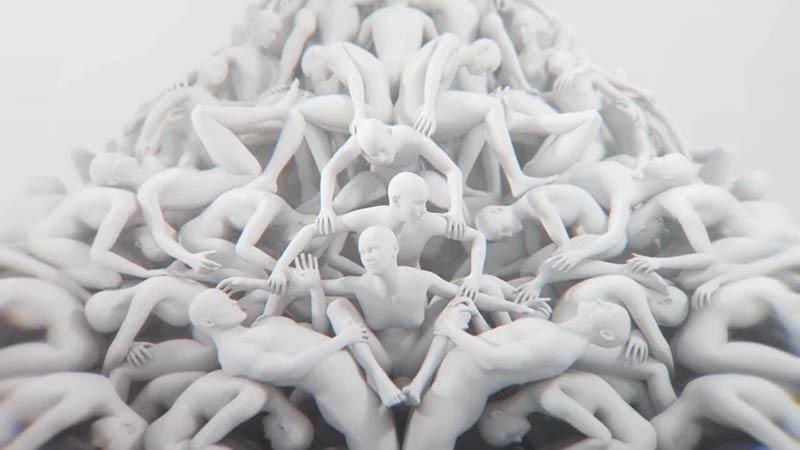 """ABC"" by Ludovico Einaudi - The unreleased music video"