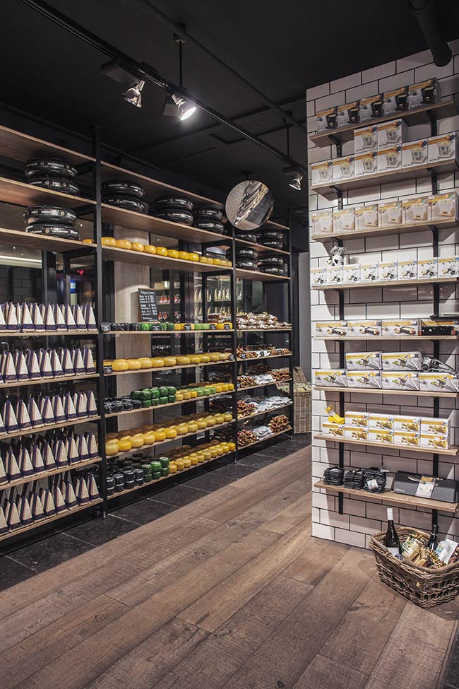 Amsterdam Cheese Store by studiomfd