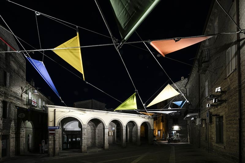 Piazza Faber in Sardinia, Italy by Alvisi Kirimoto + Partners