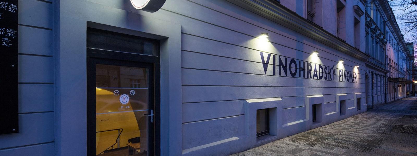 Vinohradský Pivovar, Prague by OV-A