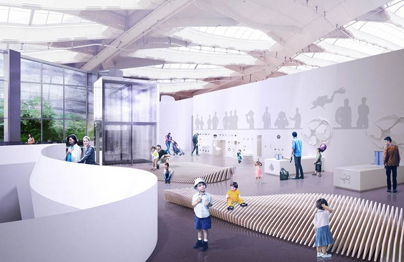 Montreal Biodome Science Museum Renewal by KANVA in collaboration with NEUF architects