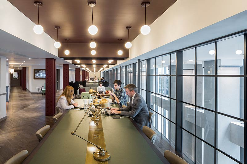 BuckleyGrayYeoman unwraps interior fit-out of 10 Bloomsbury Way on behalf of The Office Group
