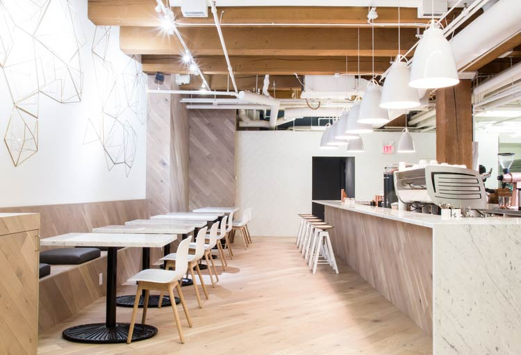 Small Victory Bread & Coffee by Leckie Studio Architecture + Design