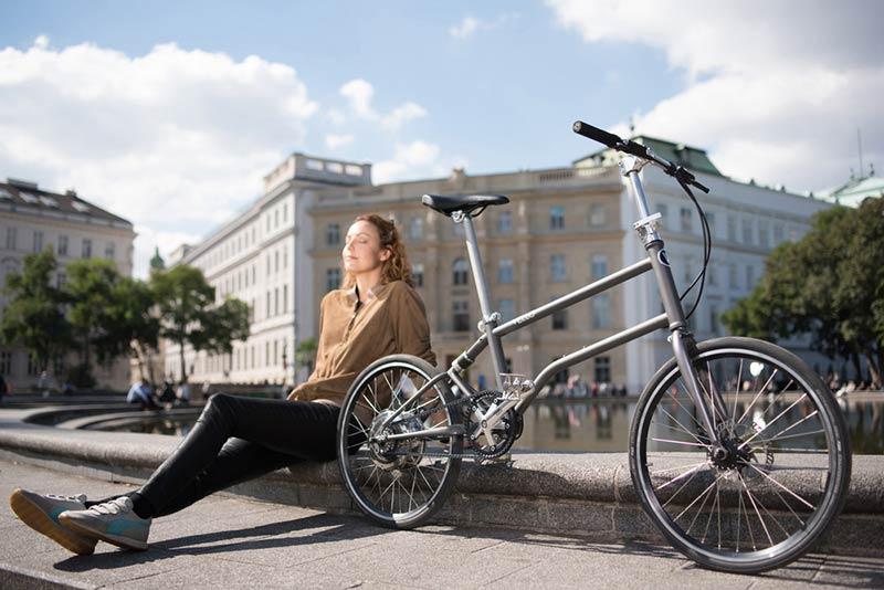 The World's First Self-Charging Electric Folding Bike