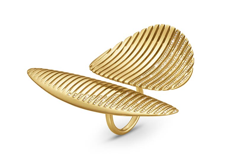 Lamellae Collection ring