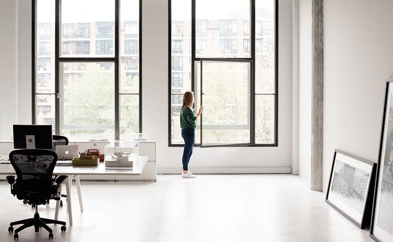 Roughness and elegance: KAAN Architecten's new home in Rotterdam