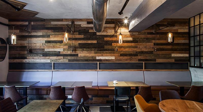 Ground Cafe by Roy David Studio