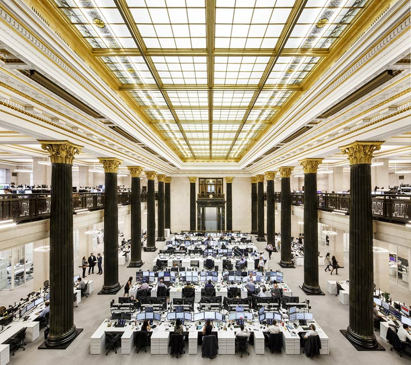 The National Bank Unveils its New Montreal Trading Floor