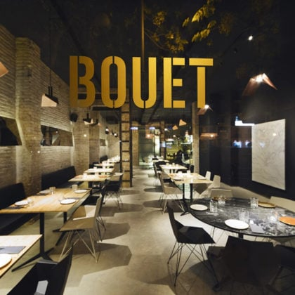 Bouet Restaurant by Ramon Esteve