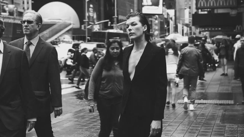 Peter Lindbergh's Manhattan Catwalk