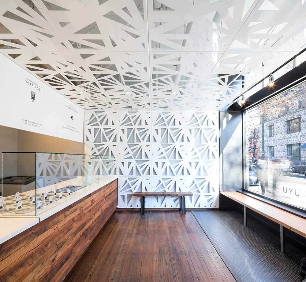 UYU Ice Cream Shop by Leckie Studio Architecture + Design
